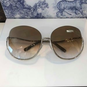CHLOE CE125S 760 GOLD BROWN SUNGLASSES 64 #89